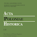 Acta Poloniae Historica nr 118