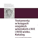 Katalogi Testamentów  - tom 1