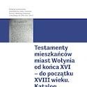 Katalogi Testamentów  - tom 2