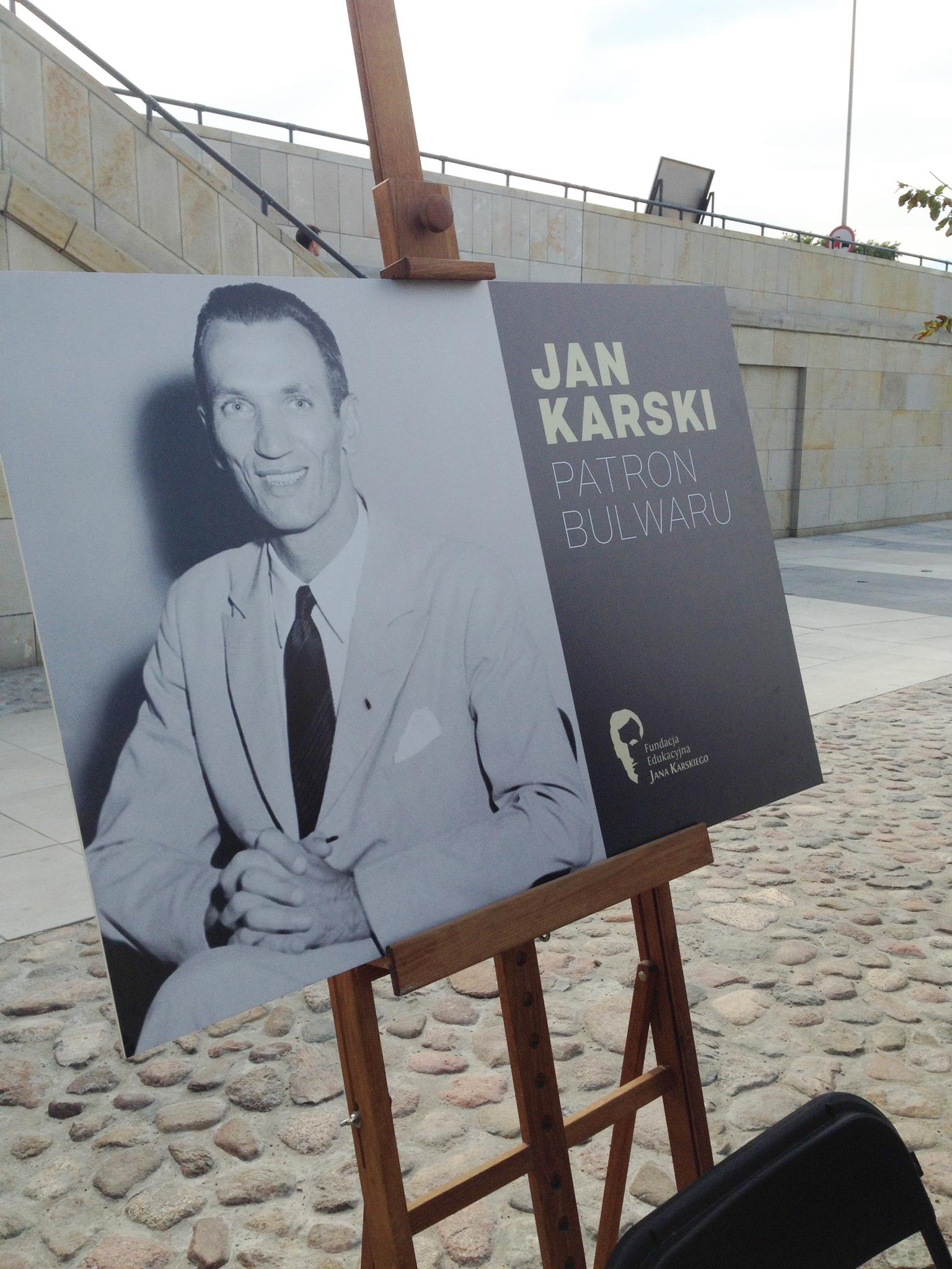 Bulwar Jana Karskiego, otwarcie, 2 sierpnia 2015 r, fot. Helena Ratomska