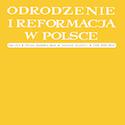 Odrodzenie i Reformacja w Polsce nr 62