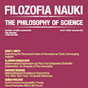 Filozofia Nauki nr 4/2019