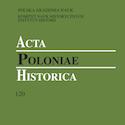 Acta Poloniae Historica nr 120