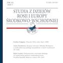 Studia z Dziejów Rosji i Europy Środkowo-Wschodniej tom LVI zeszyt 1